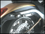 Deuce Saddlebag Brackets