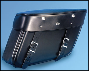 Rendezvous Quick Detachable US Made Leather Saddlebag